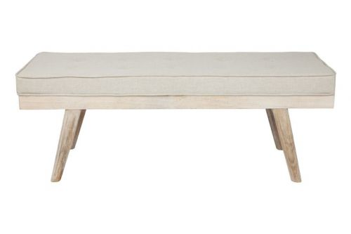 Capella Beige - Upholstered Bench