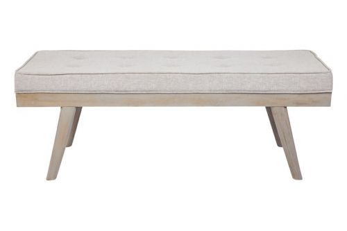 Capella Grey - Upholstered Bench