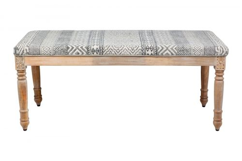 Norma Upholstered Entryway Cushioned Bench Seat - 120 cm