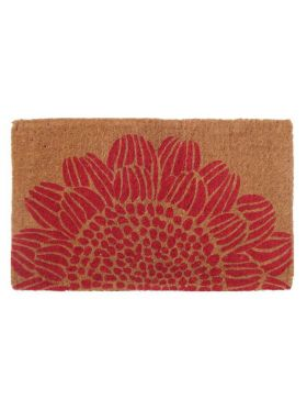 Blossom Floral Thick Coir Doormat