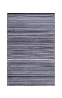 Cancun Midnight Foldable Modern Outdoor Rug